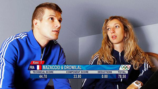 Mazaccio & Drowilal, Olympics, 2013