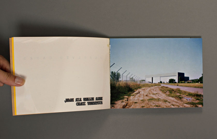 an artist book by Robert Drowilal